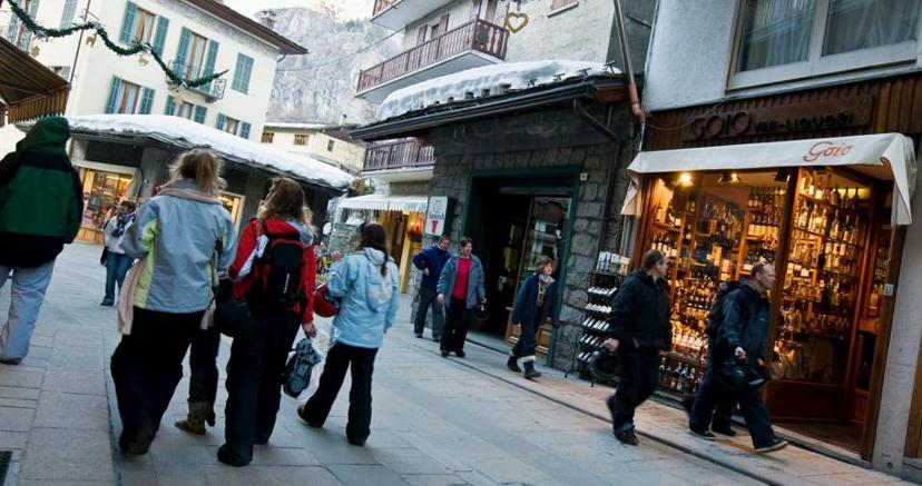 Courmayeur, tra le principali località turistica della Valle d'Aosta